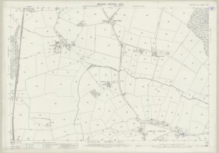 Suffolk LV.9 (includes: Bradfield Combust; Bradfield St Clare; Cockfield) - 25 Inch Map