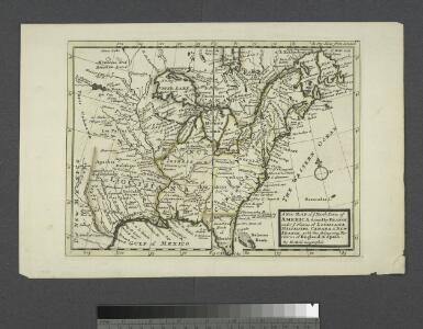 A new map of ye north parts of America claimed by France : under ye names of Louisiana, Mississipi, Canada & New France with the adjoyning territories of England & Spain / By H. Moll, geographer.