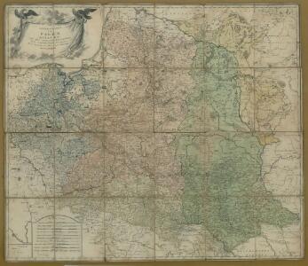 Generalkarte von Polen, Litauen und den angrenzenden Ländern