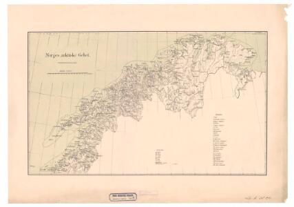 Spesielle kart nr 70b: Norges arktiske Gebet