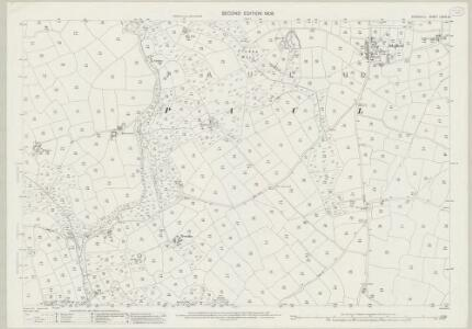 Cornwall LXXIV.13 (includes: Paul; Penzance; St Buryan) - 25 Inch Map