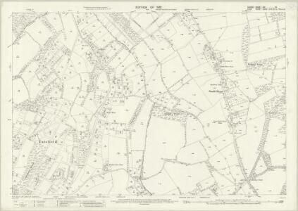 Surrey XXI.14 (includes: Orpington; Tatsfield; Westerham) - 25 Inch Map