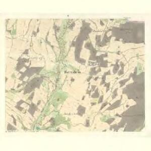 Bernhau (Barnow) - m2132-2-004 - Kaiserpflichtexemplar der Landkarten des stabilen Katasters
