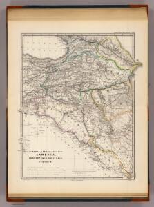 Albania, Iberia, Colchis, Armenia, Mesopotamia, Babylonia, Assyria.