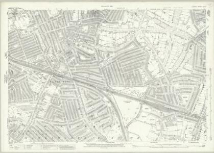 London (1915- Numbered sheets) IX.13 (includes: Wandsworth Borough) - 25 Inch Map