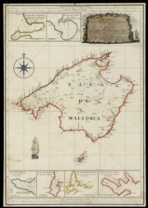 Carta esferica de la Isla de Mallorca y sus adyacentes / presentada al Rey N. S. por mano de... Antonio Valdés y construida por... Dn. Vicente Tofiño de S. Miguel, año 1786