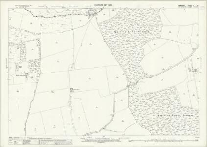 Berkshire V.15 (includes: Appleton with Eaton; Fyfield; Kingston Bagpuize; Northmoor; Tubney) - 25 Inch Map
