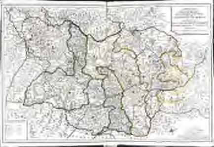 La province d'Auvergne divisée en haute et basse