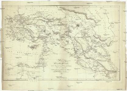 Carte de l'Asie Mineure, de l'Armenie et du Kourdistan