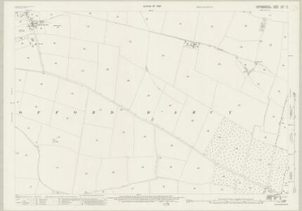 Cambridgeshire XXXII.13 (includes: Graveley; Offord Cluny; Offord Darcy) - 25 Inch Map