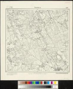 Messtischblatt 1594 : Twistringen, 1919 Twistringen