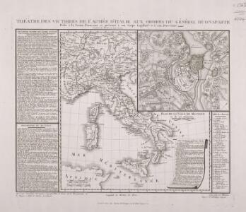 Théâtre des Victoires de l'Armée d'Italie aux Ordres Du Général Buonaparte