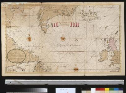 Pascaert om van Texel na de Straet Davids en Hutson te zijlen zijnde ook seer dienstig voor de gene die agterom koomen voornamentlijk voor de Westindise en Guneese schipvaert