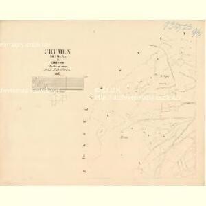 Chumen (Chumena) - c2519-1-001 - Kaiserpflichtexemplar der Landkarten des stabilen Katasters
