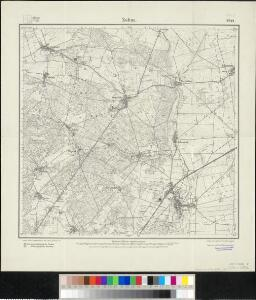 Meßtischblatt 22444 : Zahna, 1921