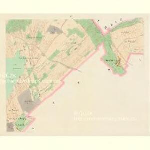 Mellhut (Lhota) - c2558-2-005 - Kaiserpflichtexemplar der Landkarten des stabilen Katasters
