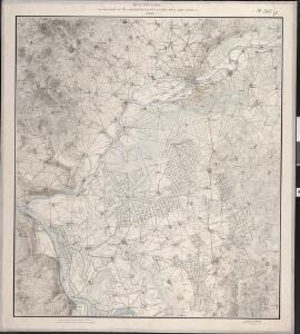 Situations Karte von Darmstadt und den umliegenden Gegenden zwischen Rhein, Mayn, Neckar &c.