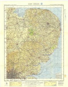 Ordnance Survey of England and Wales (Sheet 9), East Anglia
