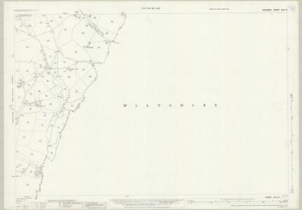 Somerset XLIII.8 (includes: Corsley; Selwood) - 25 Inch Map