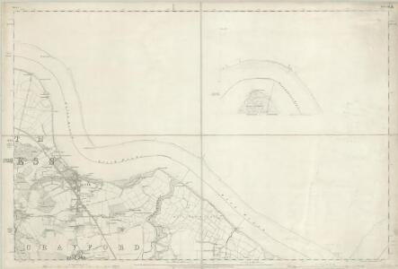 Kent III (inset IIIa) - OS Six-Inch Map