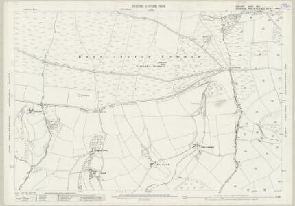 Somerset LXVII.1 (includes: Dulverton; East Anstey; West Anstey) - 25 Inch Map