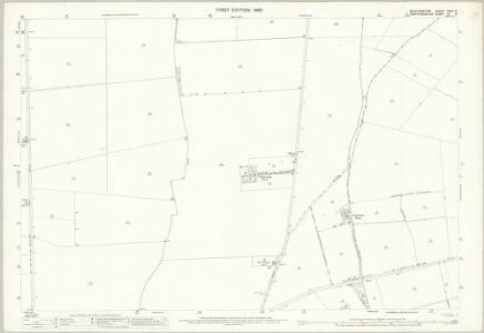Bedfordshire XXVII.6 (includes: Arlesey; Letchworth; Stotfold) - 25 Inch Map
