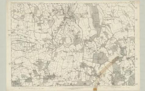 Surrey XXVII - OS Six-Inch Map