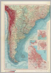 Southern South America.  Pergamon World Atlas.