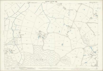 Sussex XXXII.14 (includes: Iden) - 25 Inch Map