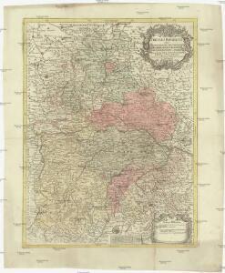 Circulus Bavaricus oder Geographische Grundlegung des Bairischen Craisses sambt angraenzenden Laendern
