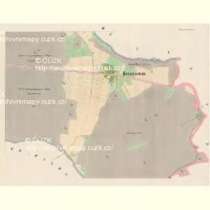 Kreuzenstein - c5890-3-002 - Kaiserpflichtexemplar der Landkarten des stabilen Katasters