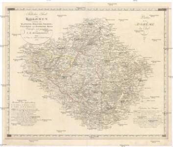 Südlicher Theil von Boehmen enthaltend den Klattauer, Berauner, Taborer, Prachiner und Budweiser Kreis