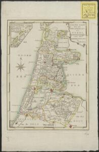Nieuwe kaart van het departement van Texel, verdeeld in VII ringen
