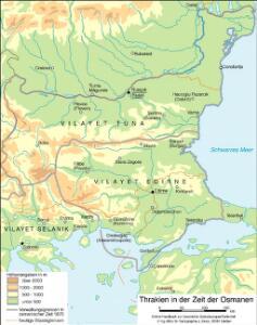 Thrakien in der Zeit der Osmanen