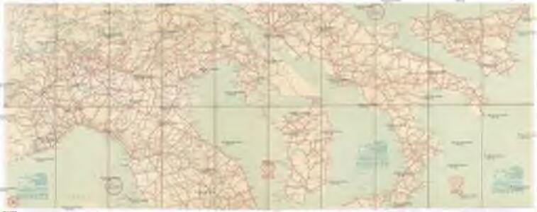 [Carta stradale d'Italia]
