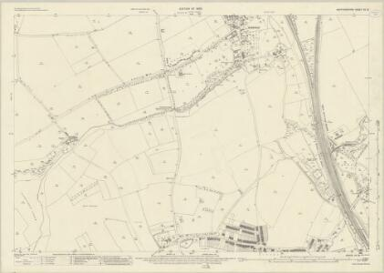 Hertfordshire VII.13 (includes: Hitchin Urban; Ickleford; Pirton) - 25 Inch Map