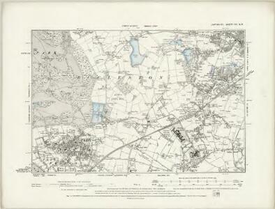 Lancashire CVII.NW - OS Six-Inch Map