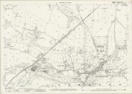 Hampshire and Isle of Wight LXII.3 (includes: Alderholt; Fordingbridge; Rockbourne) - 25 Inch Map