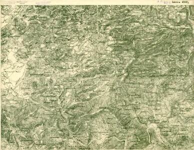 III. vojenské mapování 4552/2