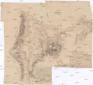 Idealer Plan von der Gegend zwischen Grulich, Rothwasser, Leipka und Lichtenau