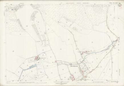 Wiltshire LXIX.12 (includes: Alvediston; Ansty; Ebbesbourne Wake) - 25 Inch Map