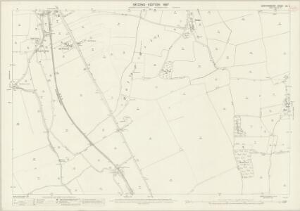 Hertfordshire XIV.5 (includes: Aspenden; Braughing; Buntingford; Hormead; Westmill) - 25 Inch Map