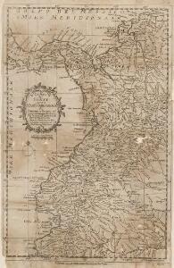 Carta dei Paesi sopra il Mare Meridionale de Panama a Guayaquil