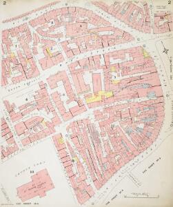 Insurance Plan of Sheffield (1888): sheet 2