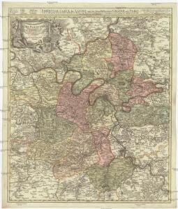 Agri Parisiensis tabula particularis, qua maxima pars insulae Franciae, seu regiae celeberrimaeq. Parisiorum urbis vicina regio in suas castellanias accurate divisa exhibetur