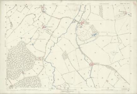 Wiltshire XLIV.3 (includes: Dilton Marsh; Heywood; North Bradley; Southwick; Westbury) - 25 Inch Map