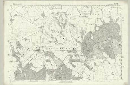 Wiltshire LXX - OS Six-Inch Map