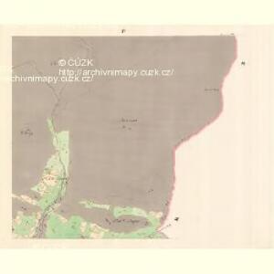 Zaschau (Zassow) - m3563-1-004 - Kaiserpflichtexemplar der Landkarten des stabilen Katasters