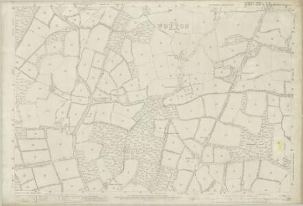 Sussex II.10 (includes: Abinger; Ockley; Rudgwick; Warnham) - 25 Inch Map
