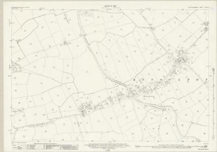 Nottinghamshire XLVII.10 (includes: Kinoulton; Owthorpe) - 25 Inch Map